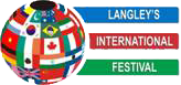 Langley's International Festival Logo