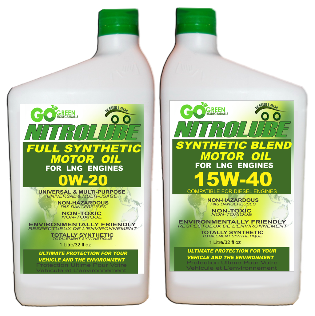 Go green lubricants nitrolube the best synthetic oil for What is the best motor oil to use